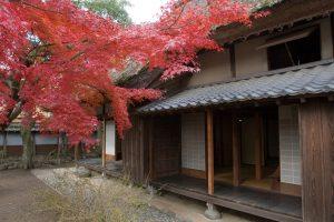 秋風庵の紅葉写真
